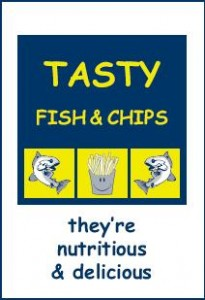 Tasty Fish & Chip Bag